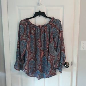 Belle Sky Ladies blouse